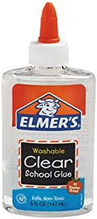 Elmer's E305 5 Oz Clear School Glue (2 Pk)