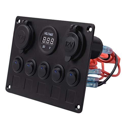MagiDeal Voltmètre Chargeur De Port USB Double 2X - #1