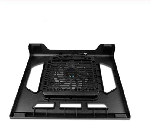 Smisoeq 15 inches or less cooling pad notebook tablet laptop notebook cooling fan with a single laptop cooling fan