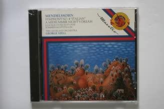 Mendelssohn Symphony No 4, Incidental Music to a Midsummer Night's Dream (CBS Masterworks)