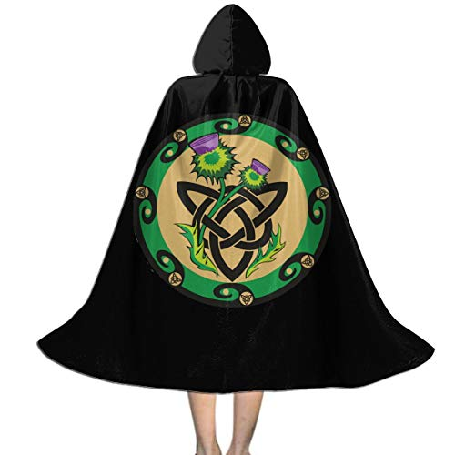 Pummbaby Celtic Ritual Norse Nordic Viking Pagan Wicca Wiccan Halloween Girls Boy Cosplay Costumes Witch Wizard Hooded Robe Cloak Christmas Children Gift Party Favors Supplies Decorations