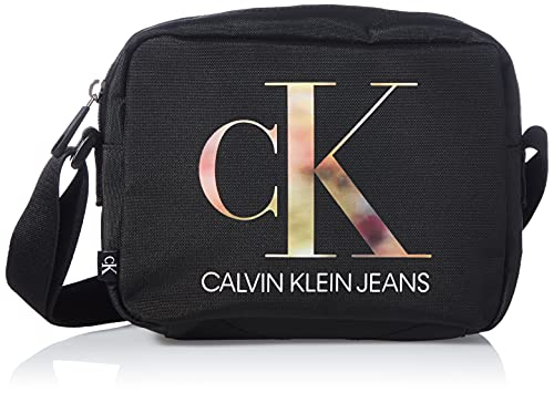 Calvin Klein Sport Essential Camera Bag, Crossovers para Mujer, Black, Medium