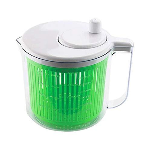 YIBOKANG Amplia Ensalada Spinner Capacidad, fácilmente Lavar, spin & secundamente seco Ensaladas, Hierbas y Verduras-BPA Preparación de Alimentos más rápidos para ensaladas saludables
