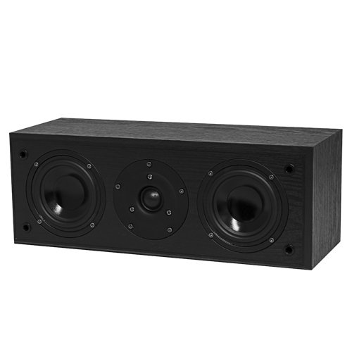 Fluance AVC Acoustic Two-Way Center Channel Speaker for Home Theater