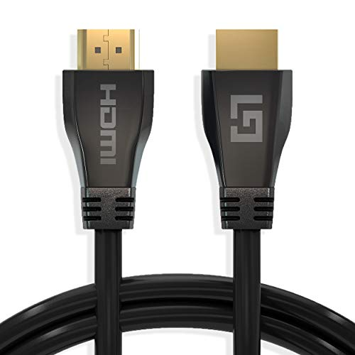 HDMI Ultra High Speed 2.1 Kabel - Gold Plated - Ethernet - Male to Male Cable - 48 Gbps, 3D, 8K op 60Hz, 4K op 120Hz, 4320P, Dynamic HDR, VRR, eARC - Zwart - 1.5 meter