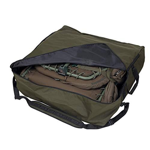 Fox R-Series Standard Bedchair Bag 86x86x25cm - Tackletasche für Angelliege, Tasche für Karpfenliege, Angeltasche für Liege