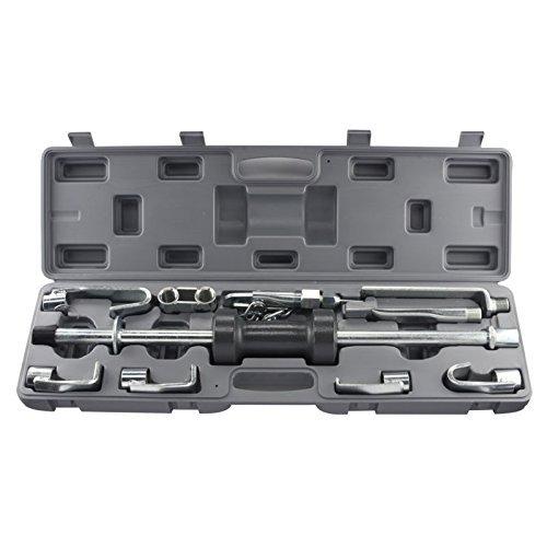 J&R Quality Tools Auto Body Repair Slide Hammer Set, 18 Piece Set