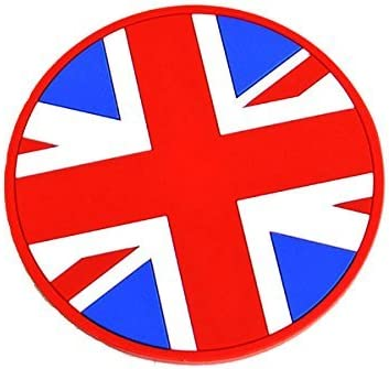 GoBadges IP55-Cup Holder Badge 1 qty Unionjack 62mm