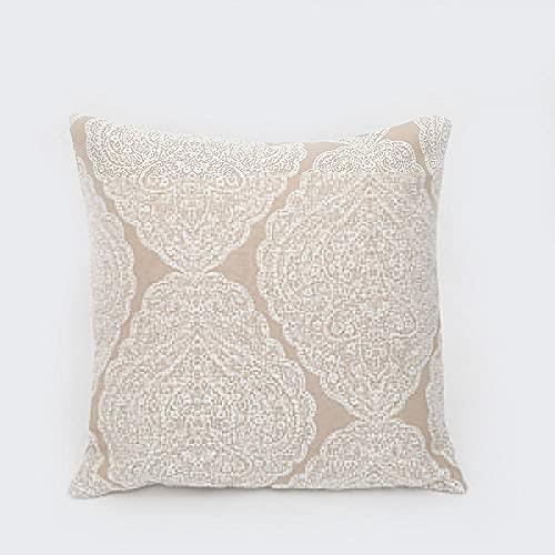 Almohada,Diseño ergonómico para un Mejor Soporte para Dormir en la Cabeza, el Cuello y los Hombros Almohada -1_45 * 45cm