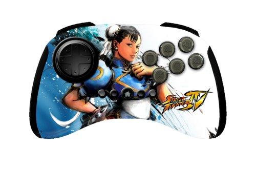 Mad Catz Street Fighter IV FightPad - Chun-Li - Volante/mando (Gamepad, PC, Playstation 3, Inalámbrico, Color blanco)