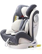 LETTAS チャイルドシート 新生児~12歳頃 (0~36kg) ISOFIX対応 シートベルト固定 一年保証