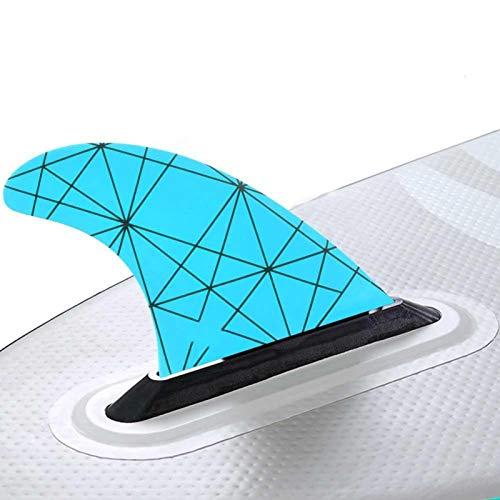 DAUERHAFT Accesorio para Kayak Material de Fibra de Vidrio Fácil de Colocar y Quitar Kayak Skeg Robusto y Duradero, para Canoa, para Deportes acuáticos Accesorios(Blue)