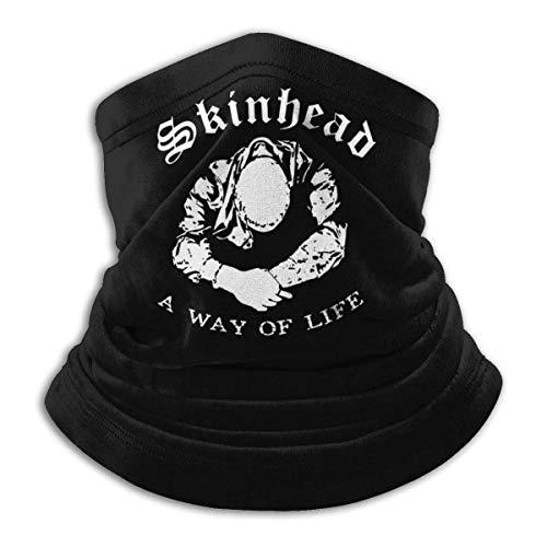 Skinhead A Way of Life - Máscara de cuello para motocicleta, pasamontañas