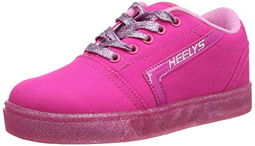 Heelys GR8 Pro (he100637), Zapatillas Niñas, Rosa (Hot Pink/Light Pink/Glitter Hot Pink/Light Pink/Glitter), 34 EU
