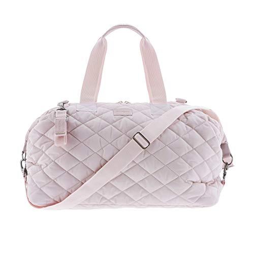 Kiwisac Lovely | Bolso Maternal | Color Rosa | Con Cambiador y Neceser | Uso Hospital o Carrito Bebe | 48 x 24 x 34cm