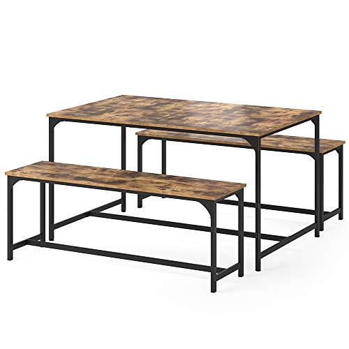 Vicco Esstisch Küchentisch Set 2 Sitzbänke Fyrk Bank Esszimmertisch Sitzgruppe