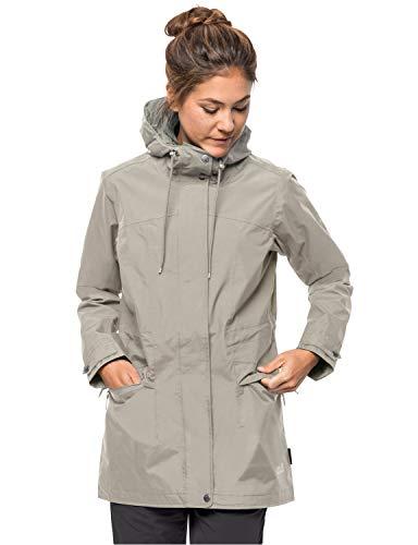 Jack Wolfskin Cameia Parka Femme Hardshell Veste Femme dusty grey FR : XL (Taille Fabricant : XL)