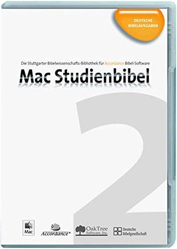 Mac Studienbibel 2 : Deutsche Bibelausgaben [import allemand]