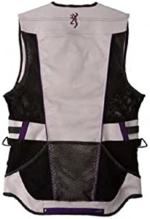 Browning 3050729600 Women's Ace Technical Shooting Vest, Purple, X-Small