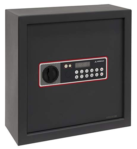 Arregui Cover 172060 Caja fuerte para camuflar en falso fondo de armario, apertura electrónica, 35x35x15 cm, 11 L
