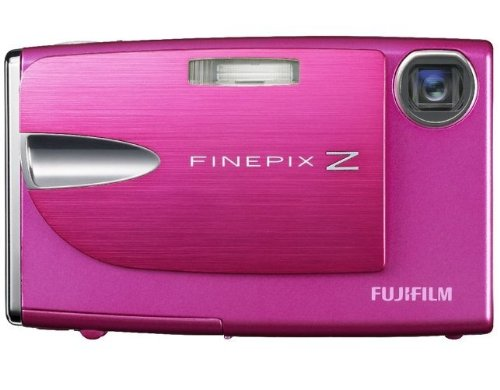 FujiFilm FinePix Z20fd Digitalkamera (10 Megapixel, 3-fach opt. Zoom, 6,4 cm (2,5 Zoll) Display) pink
