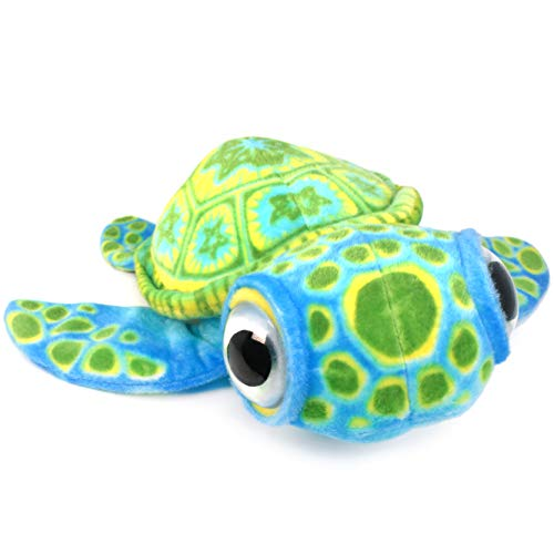 VIAHART Terrence The Turtle   14 Inch Baby Big Eye Turtle Stuffed Animal Plush   by Tiger Tale Toys -  721107392347