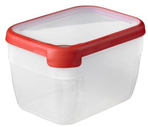 CURVER 168.441 Chef @ Home Box Rectangular Hermético Preservación Polipropileno Rojo 20 x 15 x 13 cm