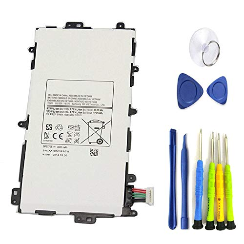"Dentsing 3.75V 4600 mAh Battery SP3770E1H for Samsung Galaxy Note 8"" GT-N5110 Tablet 141332454061"