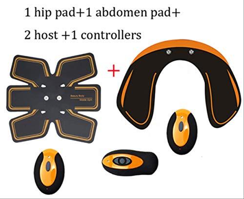 RTGFS EMS Drahtlose Hüften Trainer Remote USB Elektrische Bauchmuskelstimulator Fitness Gesäß Po Toner Heben Abnehmen MassagegerätOption 6