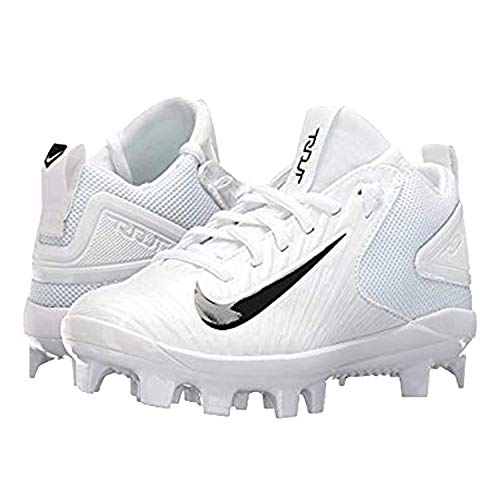 Nike White Little M s Trout 3 Pro Baseball Cleats