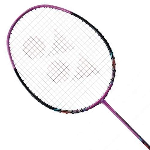 YONEX Nanoray 10F Badminton Pre-Strung Racket (Pink)(4UG5)
