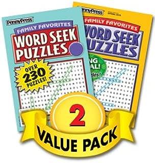 Family Favorites Word Seek Volumes - 2 Pack