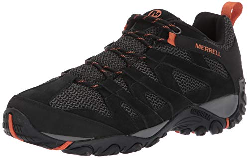 Merrell Alverstone J48527 Wanderschuhe Outdoorschuhe Turnschuhe Schuhe Herren J48527 Black (46 EU)