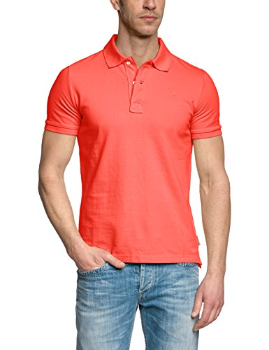 Brunotti, T-Shirt Polo Homme frunot Mens Noos, 131214005 N S Rosso (Reed)