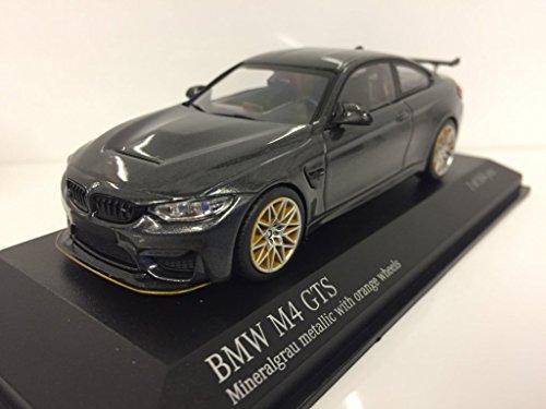 Minichamps–BMW–M4GTS–2016Auto Miniatur-Collection, 410025228, grau Metall