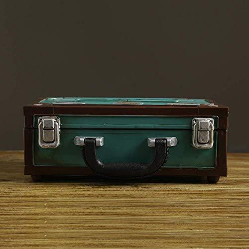 Suytan Creative Container Tissue Box Cover Holder, Servilletero Facial Antiguo de Hierro Fundido Industrial Wind, Organizador de Caja de Toallas de Papel Decorativo, para Amigo (Color: Container Tiss