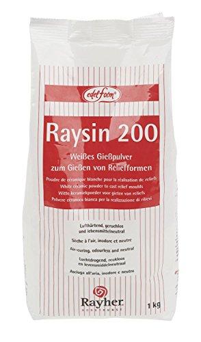 Polvere ceramica bianca Raysin 200, confezione da 1 kg