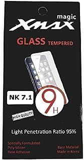 شاشة حماية زجاجية لهاتف نوكيا 7.1 من ماجيك اكس ماكس شفاف