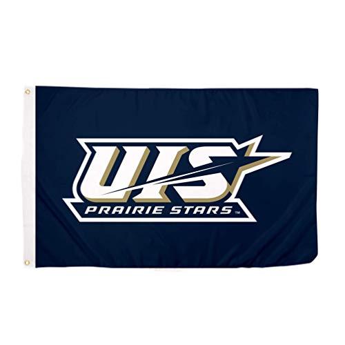 Desert Cactus University of Illinois Springfield UIS Prairie Stars 100% Polyester Indoor Outdoor 3 feet x 5 feet Flag