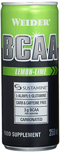 Weider BCAA RTD, Lemon-Lime, 24 Dosen, EINWEG (24x250ml)
