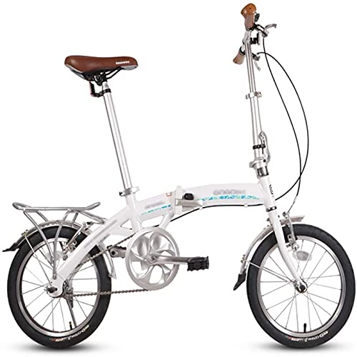 NoMI Bicicletas Plegables 16 Pulgadas Bici Ligera Cuadro Aleación Bicicleta Adultos Hombres...