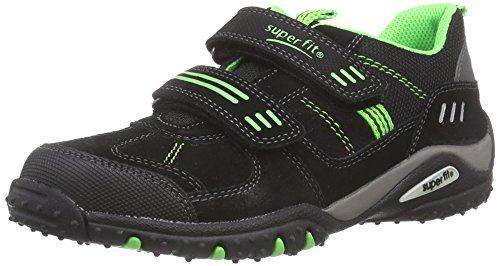 Superfit SPORT4 500224, Jungen Sneakers, Schwarz (SCHWARZ 00),  31 EU