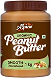 Alpino Organic Natural Peanut Butter Smooth 1 KG
