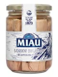 MIAU Lomos de Atún en Aceite de Girasol - Paquete de 24 x 400 gr - Total : 9600 gr