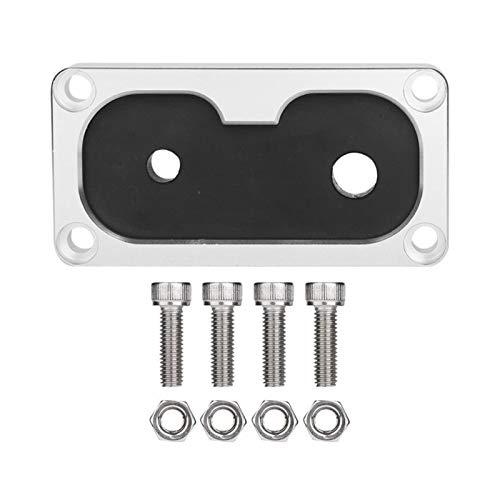 MeiZi 1 Placa PC K-Tuned Billet Shifter Cuadro Base Cable Ojal en Forma for Cívico Integra W/K-Intercambiar Series estrenar Accesorios for automóviles