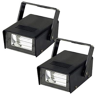 beamz 2x Skytec High Power Strobe Lights