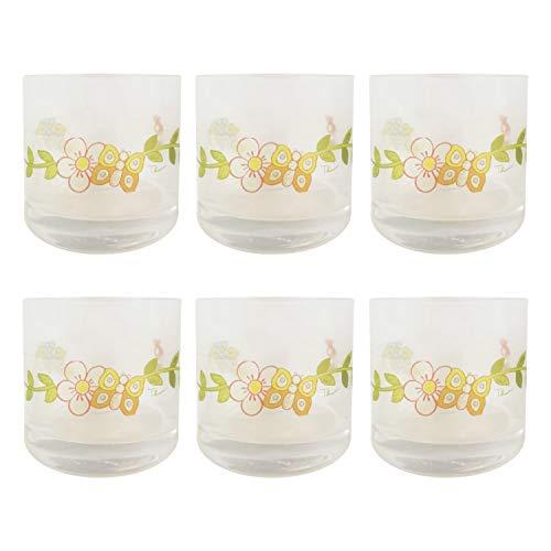 THUN ® - Set 6 Bicchieri - Vetro - Liquore Country - 13 cl - h 6 cm - Ø 6 cm