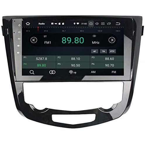 Unité Principale ROADYAKO pour Nissan Qashqai at 2013, 2014, 2015, Android 8.1, autoradio stéréo avec Navigation GPS, Lien de Miroir 3G WiFi RDS FM AM Bluetooth Multimédia Audio Vidéo