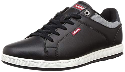 Levi's Men's Declan 2.0 Regular Black Sneakers-8 UK (42 EU) (9 US) (38109-0214)