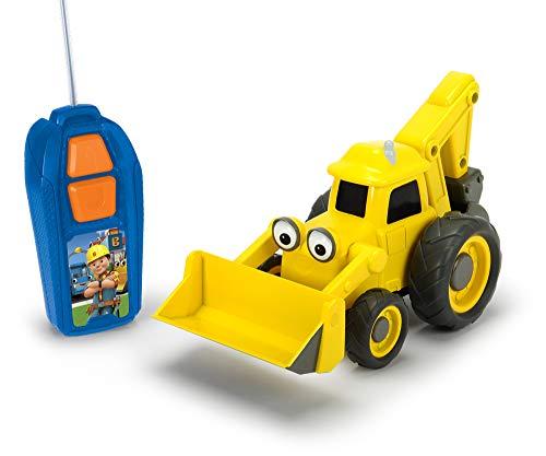 Dickie Toys 203134004 - Bob der Baumeister Baggi RC-Fahrzeug, Spielauto, ferngesteuerter Bagger, 20 cm